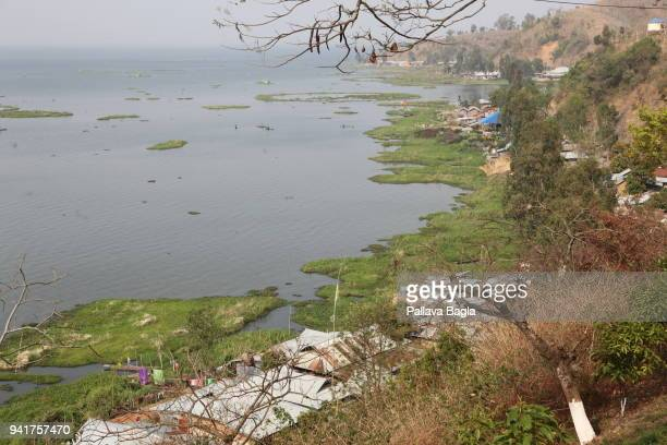Local tribals depend on the lake The Indian government has set up its first floating laboratory on a fibre glass boat and housed it in the remote...