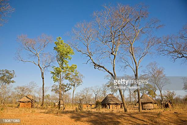 Local village in Zambia, Africa