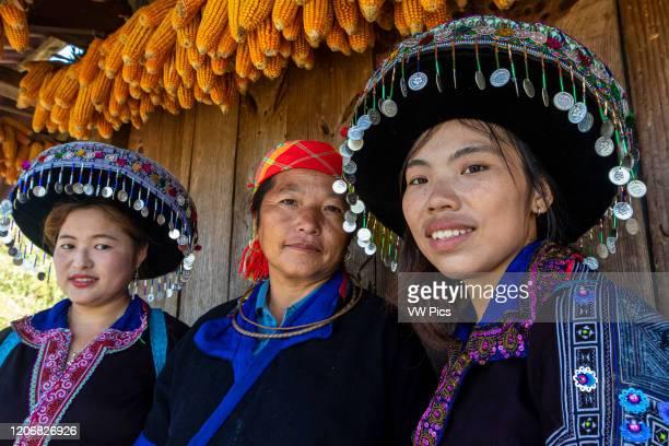 Local women in Mu Cang Chai Vietnam