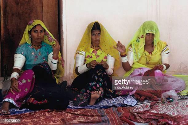 Local women Samode Rajasthan India