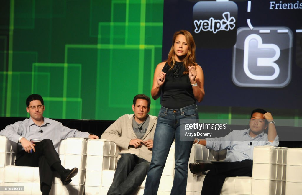 LocalHero CEO and Co-Founder Ana Baltodano speaks onstage at Day 2 of TechCrunch Disrupt SF 2011 held at the San Francisco Design Center Concourse on September 13, 2011 in San Francisco, California.