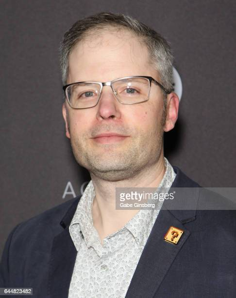 Localization manager for Nintendo of America Dan Owsen attends the 20th annual DICE Awards at the Mandalay Bay Convention Center on February 23 2017...