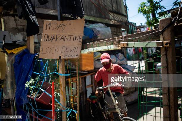 Localized quarantine has been imposed in a compound with confirmed cases of COVID-19 to prevent the further spread of the virus in Quezon City,...