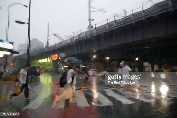 Localized torrential rain