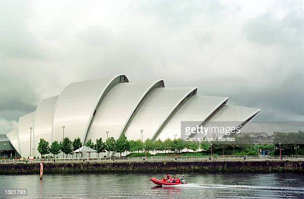 Locally known as 'The Armadillo' Glasgow''s concert hall in Glasgow Scotland September 16 2000 Glasgow was named Eurpoean city of architecture in the...
