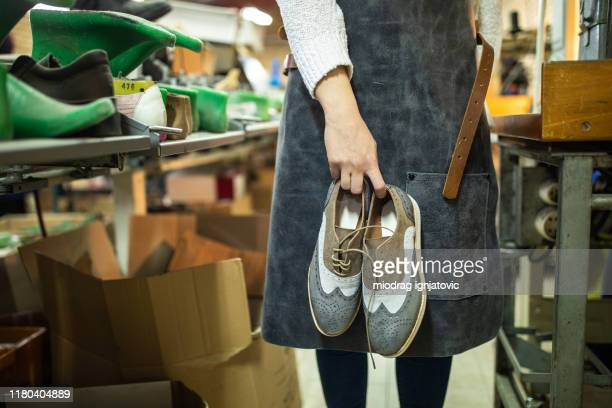 locally made leather shoes - leather shoe stock pictures, royalty-free photos & images
