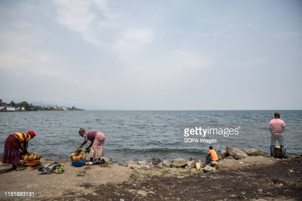 Locals at the shores of Lake Kivu in Goma DR Congo is currently experiencing the second worst Ebola outbreak in recorded history More than 1400...