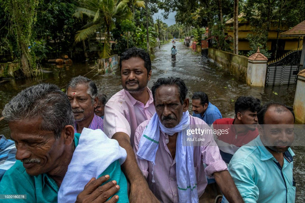 Floods Hit Southern Indian State of Kerala