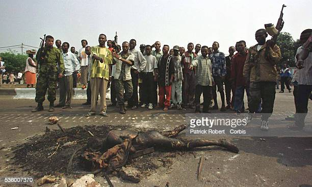 Locals from areas around the airport have been lynching those thought to be Tutsis