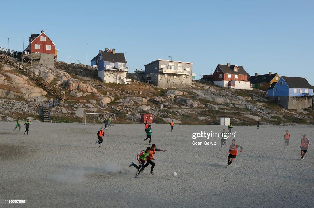 Greenland: Every Day Life And General Imagery : Fotografía de noticias