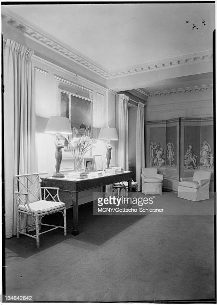 Located at 61st Street and Fifth Avenue Showing table group Pierre Hotel