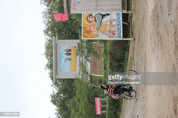 CONTENT] Located near Wonsan North Korea the Chonsam cooperative farm is a model socialist enterprise
