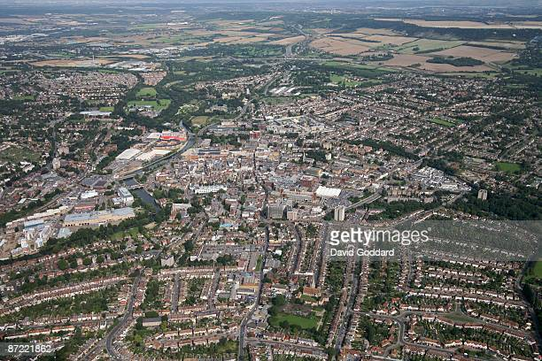 Located on the River Medway is the Kent town of Maidstone on 30th August 2006