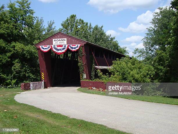 CONTENT] Located over the Eel River on Wabash County Road 700 W this old covered bridge was built in 1877 It is about a fourth of a mile north of...
