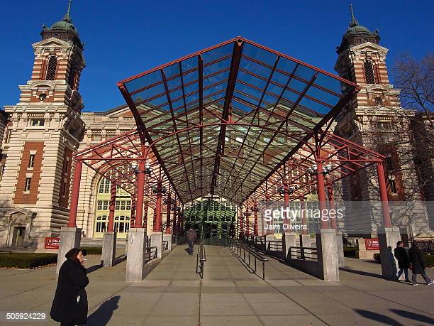 Location, Ellis Island, New Jersey and New York, USA.