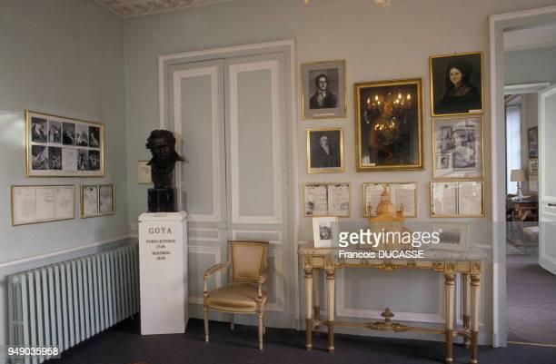 Locaux du centre culturel espagnol Casa de Goya à Bordeaux en Gironde en France