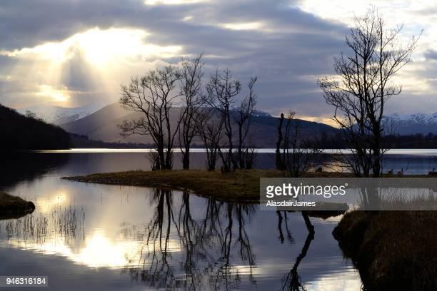 Loch Arkaig sunset