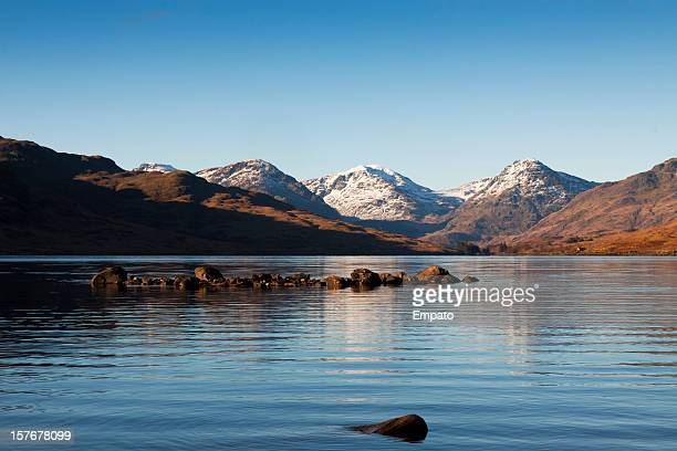 loch arklet, the trossachs, scotland. - stirling stock pictures, royalty-free photos & images