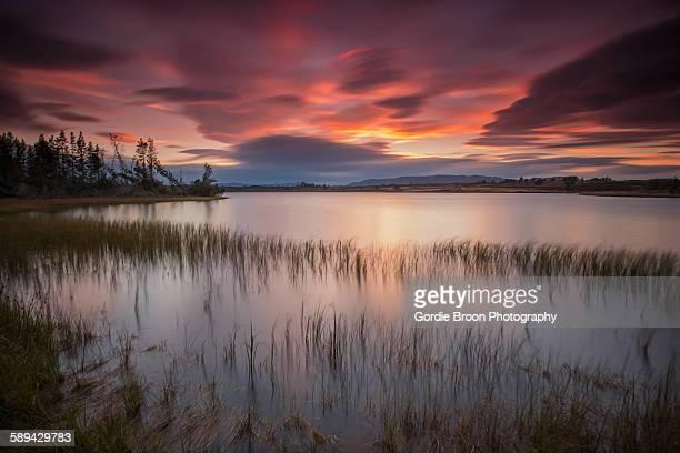 Loch Ashie sunset
