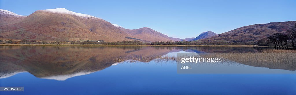 Loch Awe and Ben Cruachan, Scotland, UK : Stock Photo