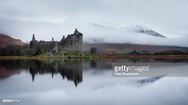 loch awe reflections - scottish culture stock pictures, royalty-free photos & images