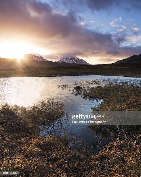 Loch Ba at Dawn
