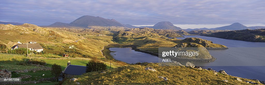 Loch Inchard, Sutherland, Scotland, UK : Stock Photo