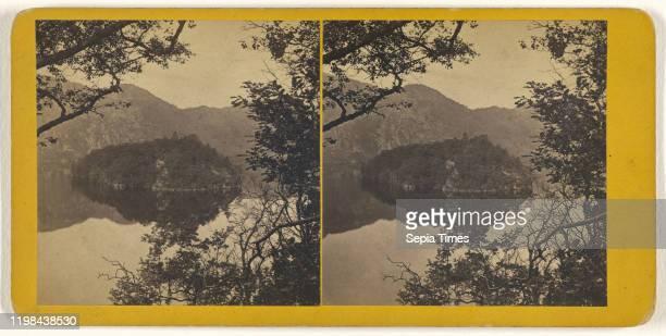 Loch Katrine Ellen's Isle James Valentine 1870s Albumen silver print
