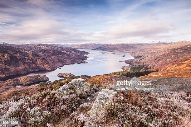 Loch Katrine from the summit of Ben A'an.