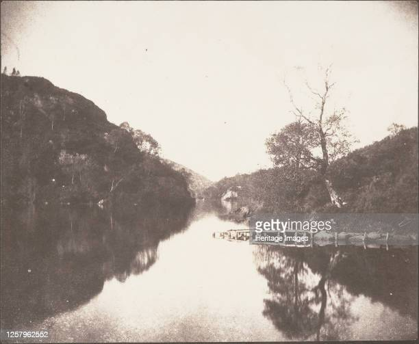 Loch Katrine Pier Scene of the Lady of the Lake October 1844 Artist William Henry Fox Talbot