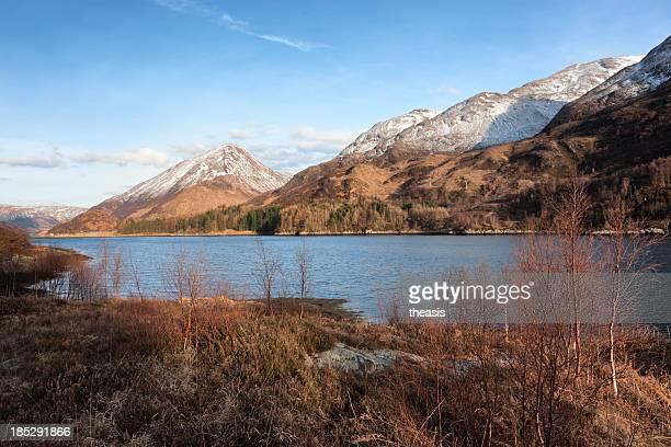 lago leven - theasis imagens e fotografias de stock