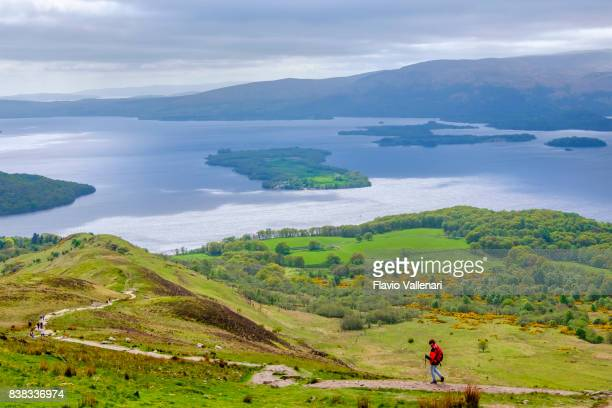 loch lomond and the trossachs national park - scotland - national park stock photos and pictures