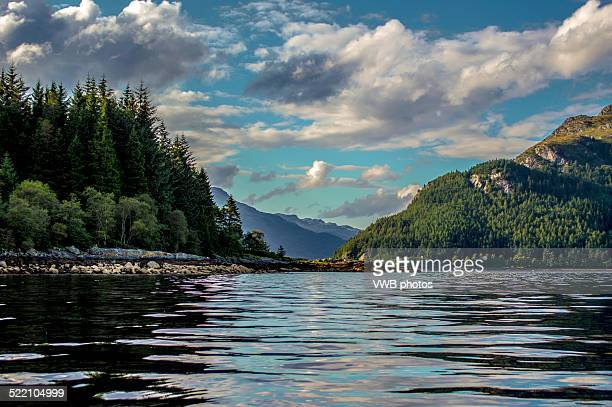 loch long cloudscape - national park stock pictures, royalty-free photos & images