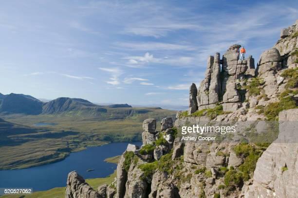 Loch Lurgainn and Stac Pollaidh Mountain