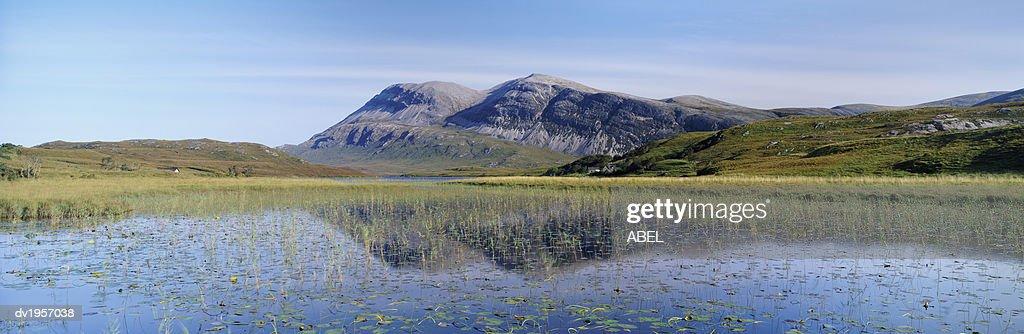Loch More, Sutherland, Scotland : Stock Photo