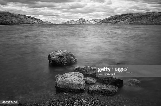 Loch Ness In Black And White