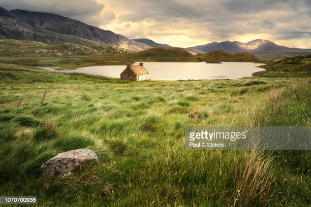 loch stack - scotland stock pictures, royalty-free photos & images
