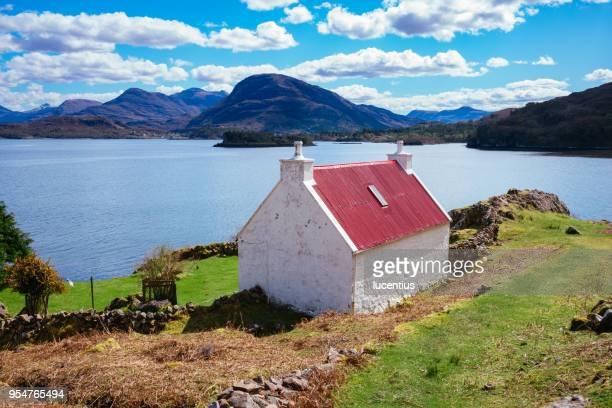 Loch Torridon cottage, Scotland