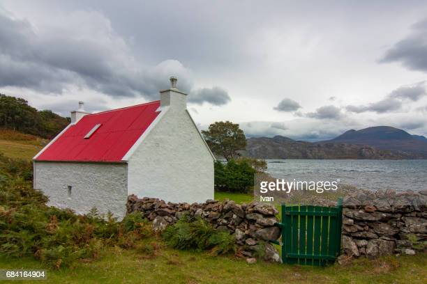 Loch Torridone Cottage, Scottish Highland, United Kingdom, Europe