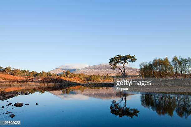Loch Tulla Reflections, The Highlands, Scotland.