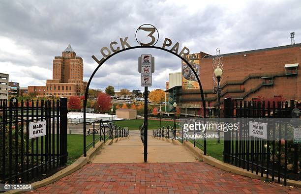 Lock 3 Park, Akron, Ohio, USA