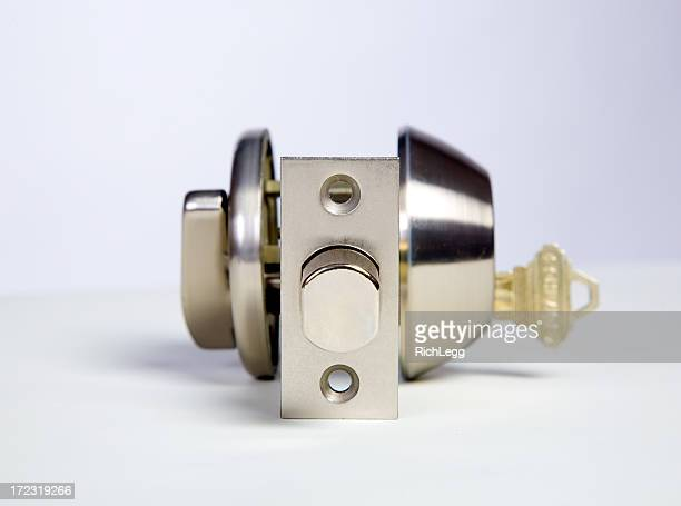 lock and key - rich_legg stock photos and pictures
