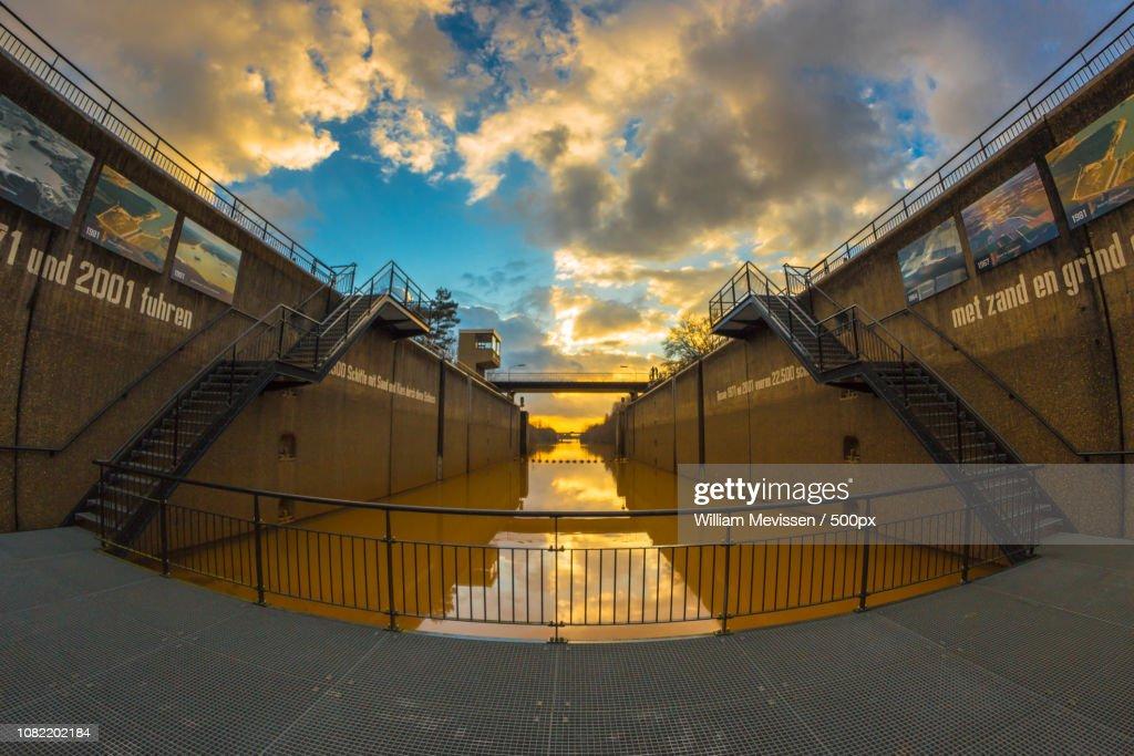 Lock Chamber : Stockfoto