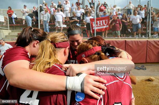 Lock Haven University takes on the University of Alabama in Huntsville during the Division II Women's Softball Championship held at the James I Moyer...