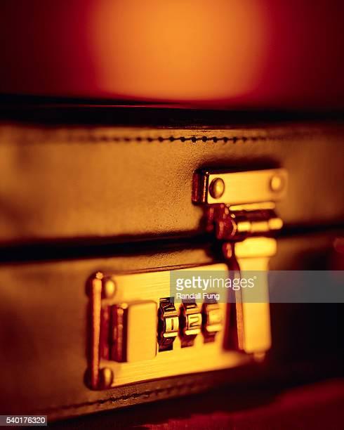 Lock on Briefcase