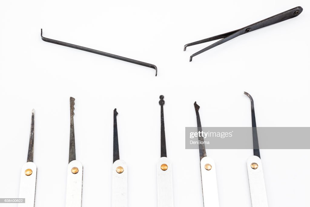 Lock Pick Stock Photo | Getty Images