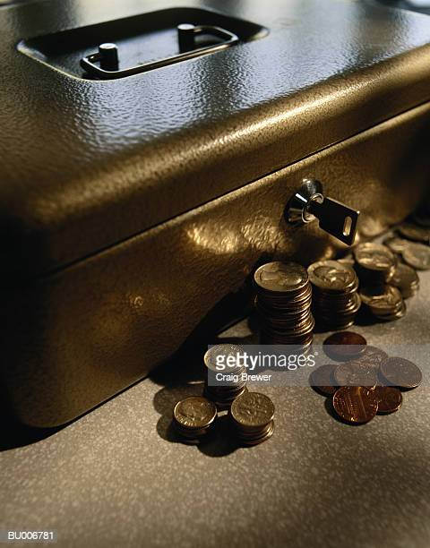 Lockbox and Coins