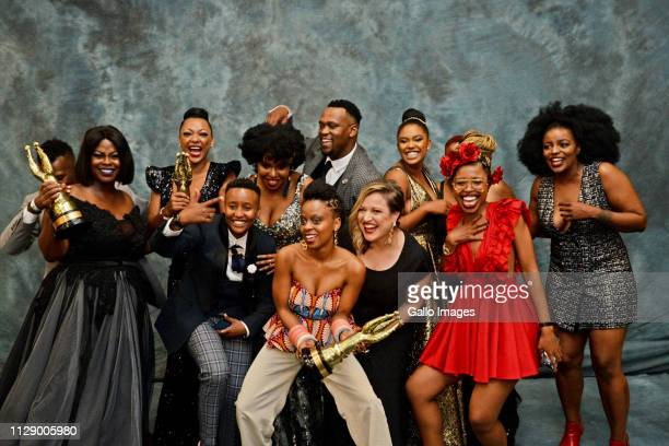 Lockdown Cast during the 13th annual South African Film and Television Awards at the Sun City Superbowl on March 02 2019 in Rustenburg South Africa...