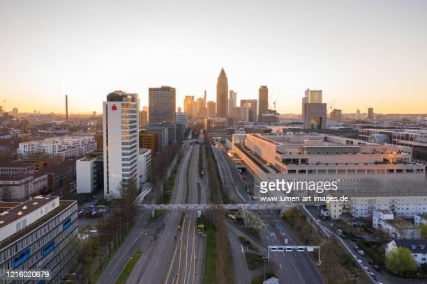 lockdown frankfurt - lockdown stock pictures, royalty-free photos & images