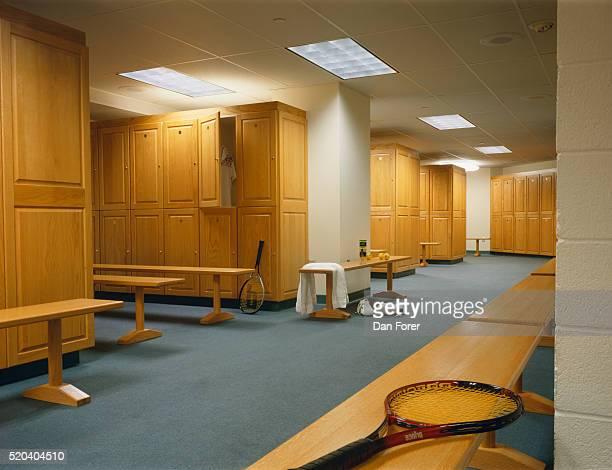 Locker Room in the Lipton Tennis Center